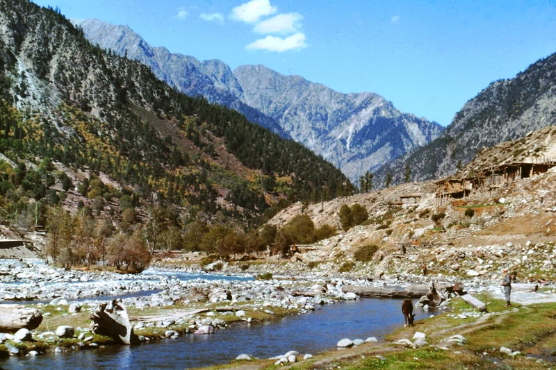 Swat Valley – Kalam – View from our hotel room