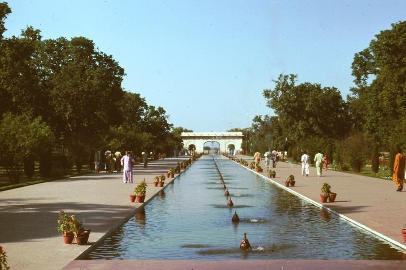 Lahore Fort Persian Garden