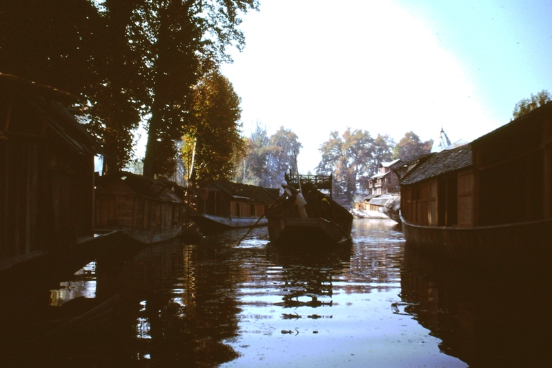 Srinagar – Local families' houseboats