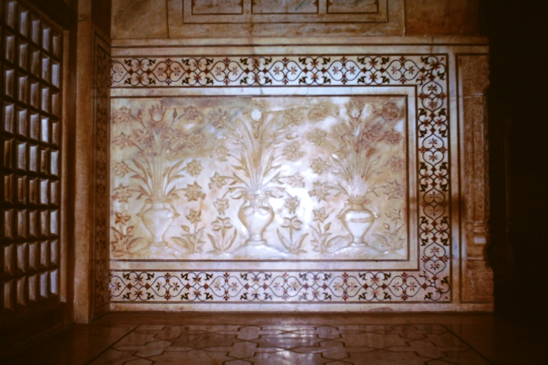 Agra – Taj Mahal – Interior