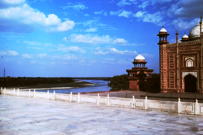 Agra – Taj Mahal – View of Yamuna River
