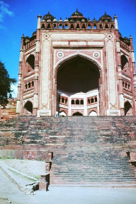 Fatehpur Sikri – Entrance to complex – (Buland Darwaz)