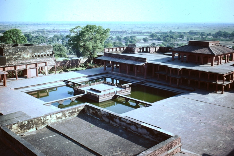 Fatehpur Sikri – View from top of Jewel House