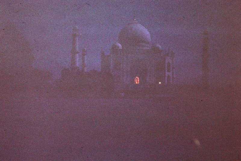 Agra – Taj Mahal – Midnight