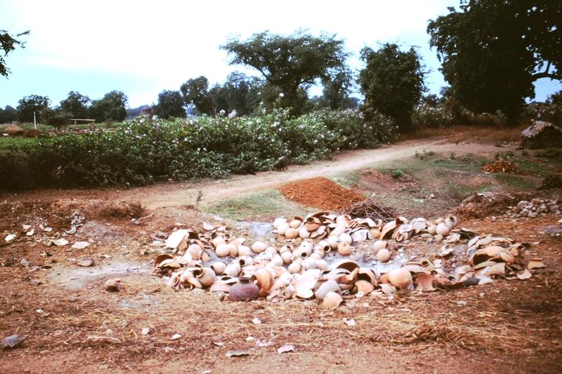 Khajuraho – Kiln site