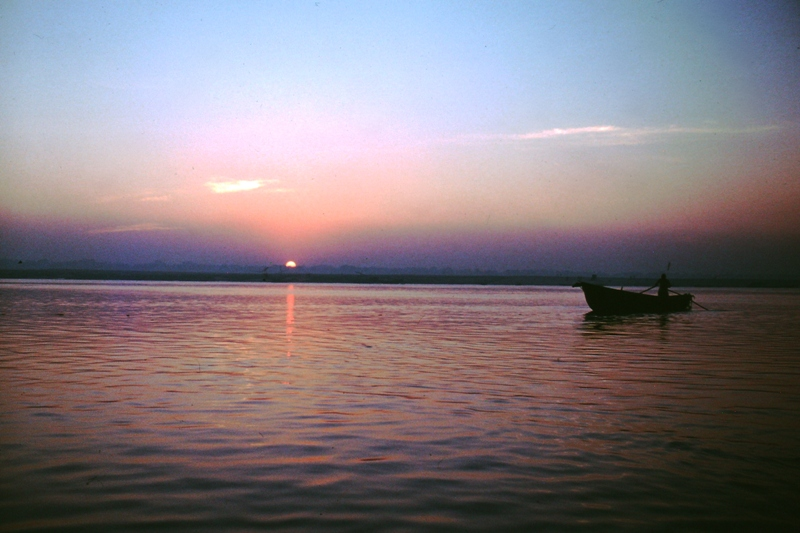 Varanasi – The Ganges at dawn