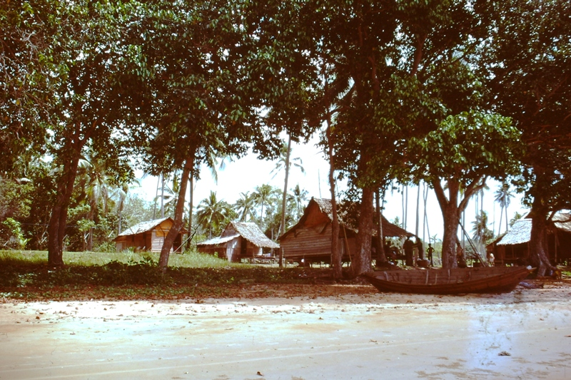 Malay kampong – village
