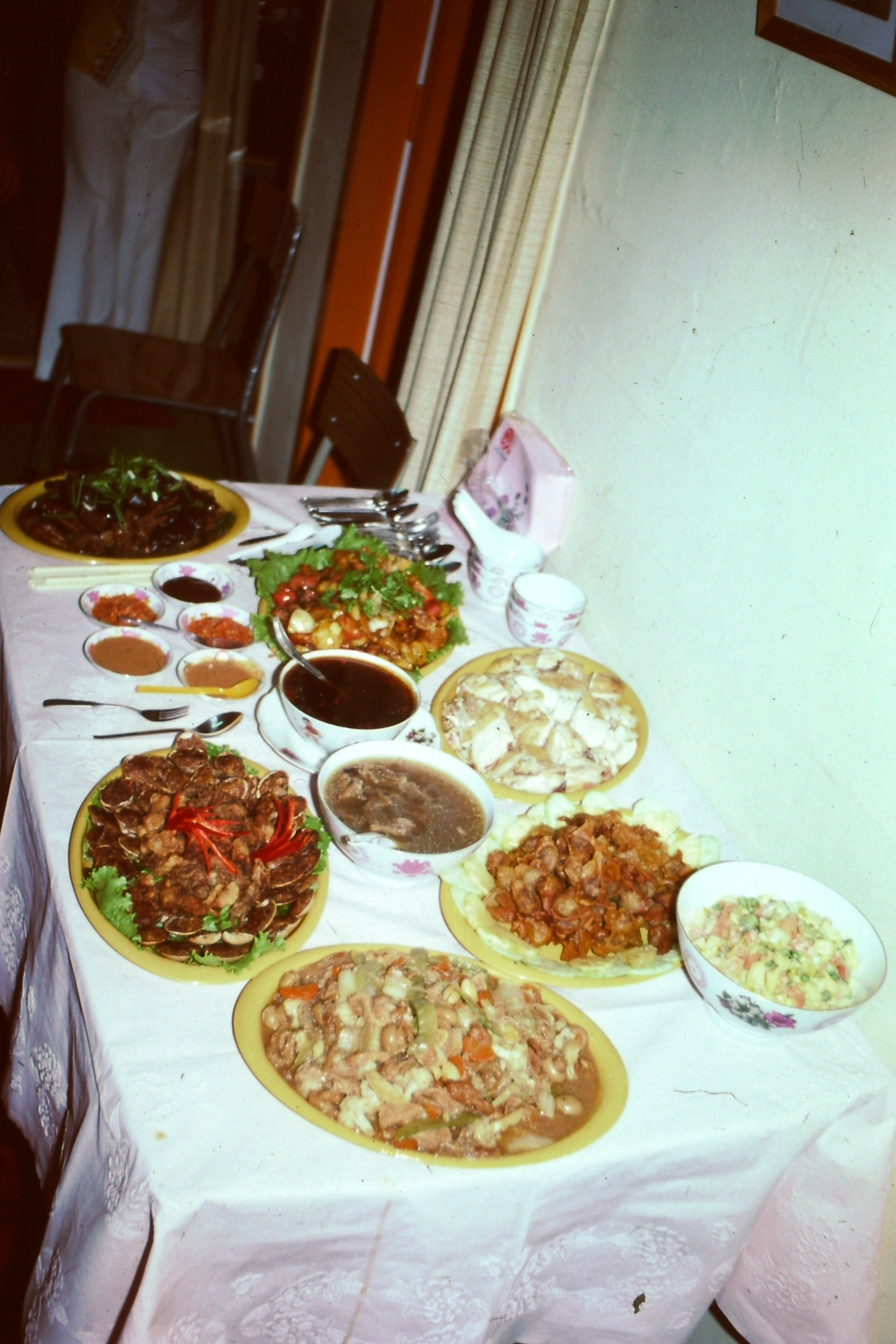 Singapore – Chinese new year spread at Ah Bang's