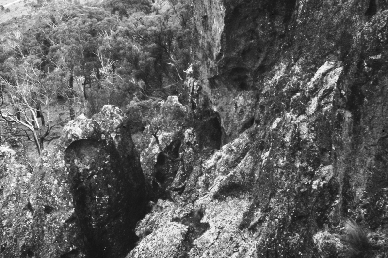 Hanging Rock – Black & White