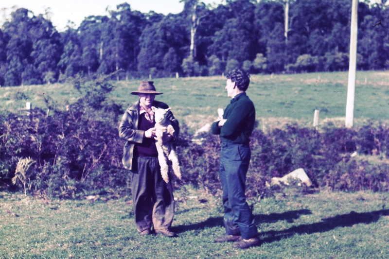 Kinglake – Norm and his farmer mate