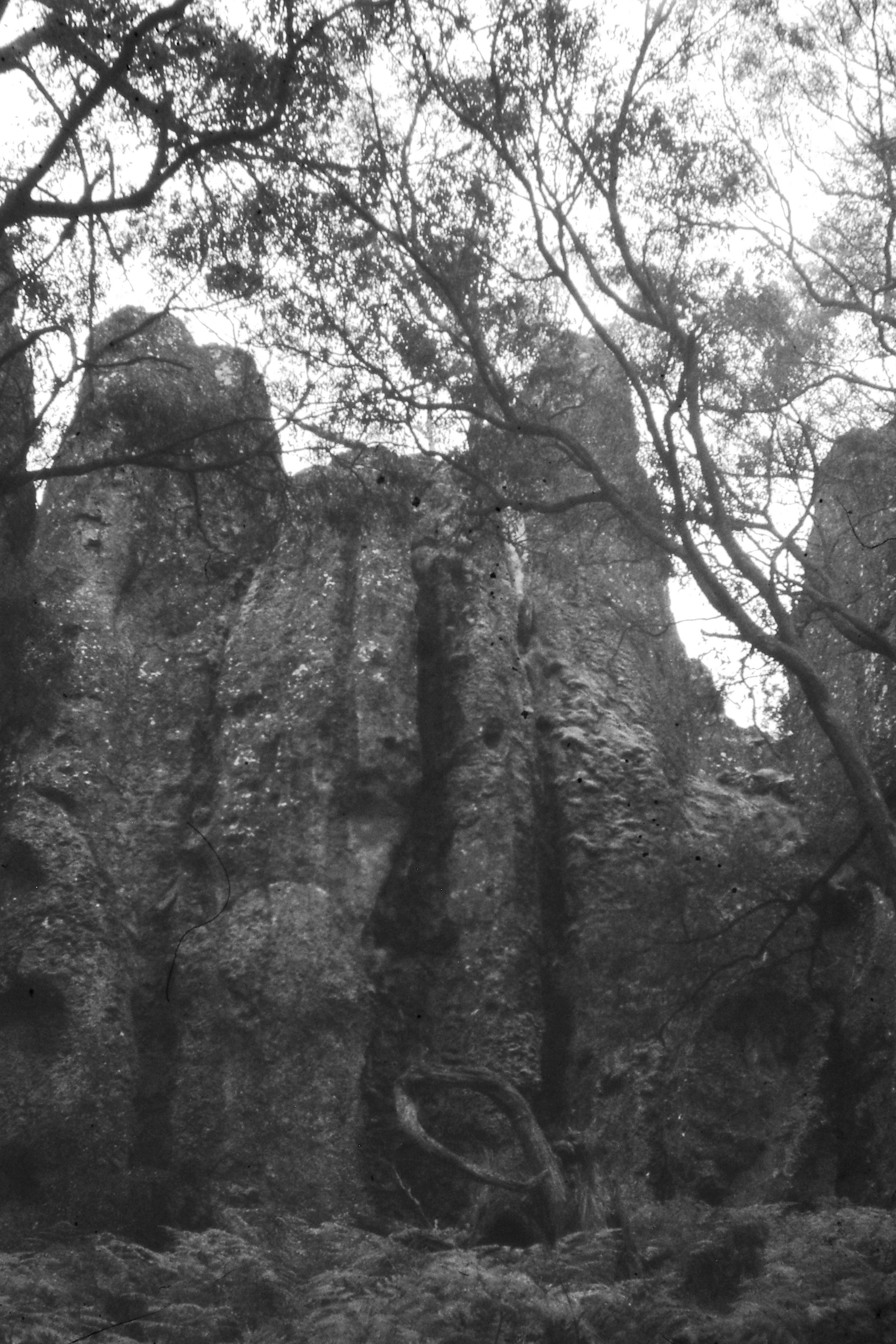 Hanging Rock – Black & White