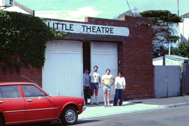 Williamstown Little Theatre – Father Higgins, Ray Hare (The Stranger), Brian (The Policeman) and Erna (The Martyr)