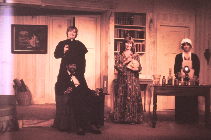 Theatre – Ray, Father Higgins, Sue and The Dispenser