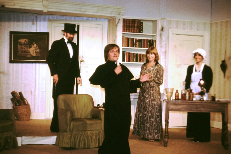 Theatre – Father Higgins with suspicious object