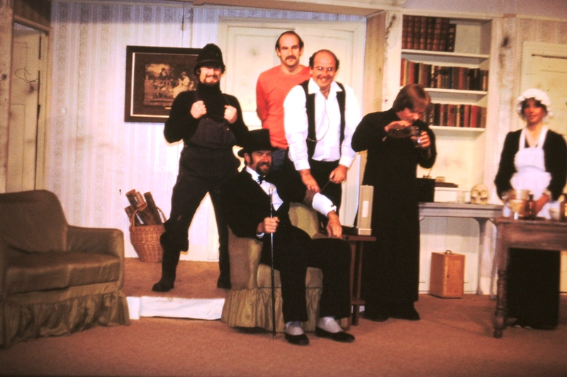 Theatre – The Policeman, The Stranger, Dr Frowsty, Father Higgins and The Dispenser