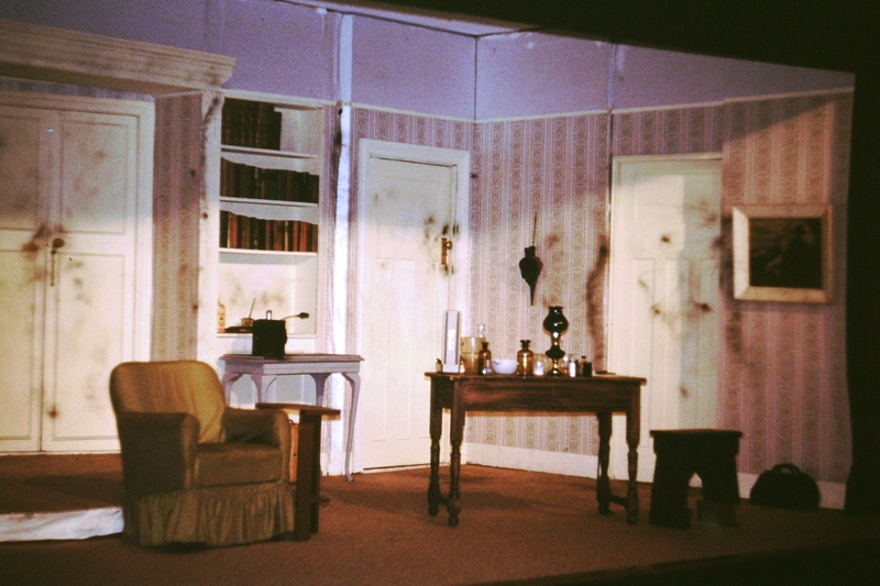 Theatre – Set – The creation of which is where the real effort of amateur dramatics is made
