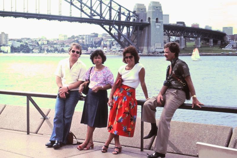 Ian, Erna, Maggie & Steve