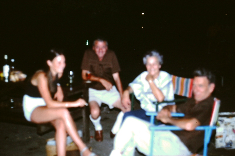 A fuzzy Leonie, Bill, Betty & Norm
