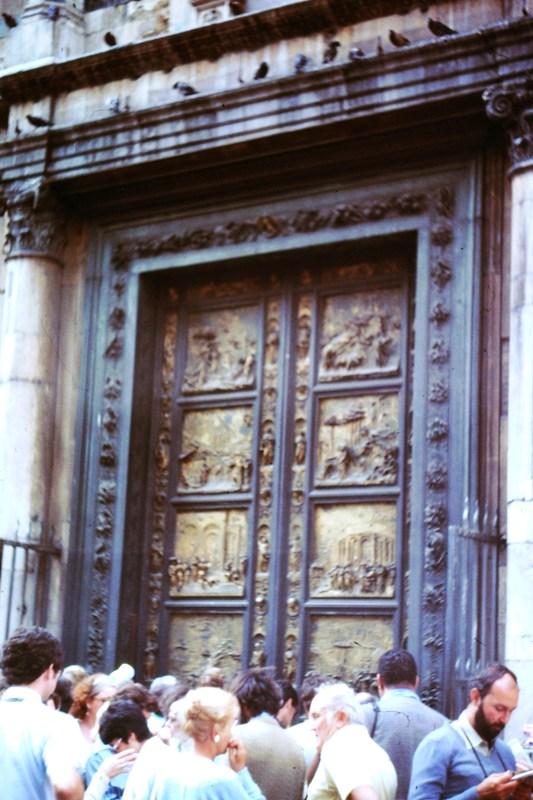 Italy – Florence – Baptistry – Gates of Paradise