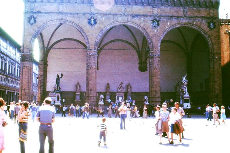 Florence – The Loggia della Signoria