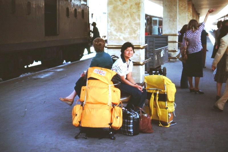 Milan railway station – Erna