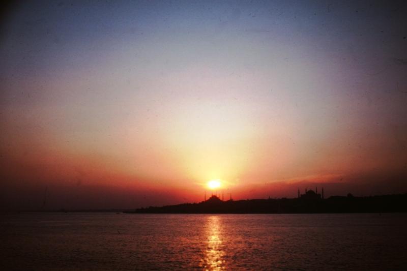 Istanbul - sunset