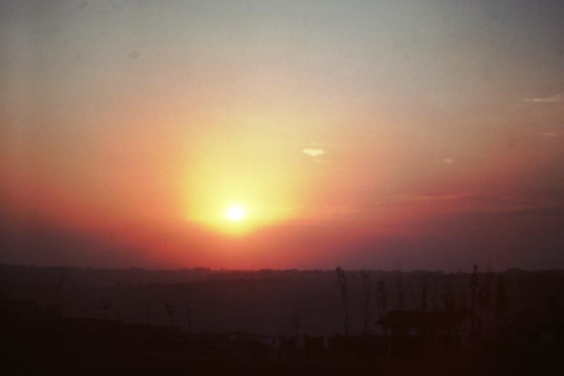 Between Istanbul & Samsun - Sunset
