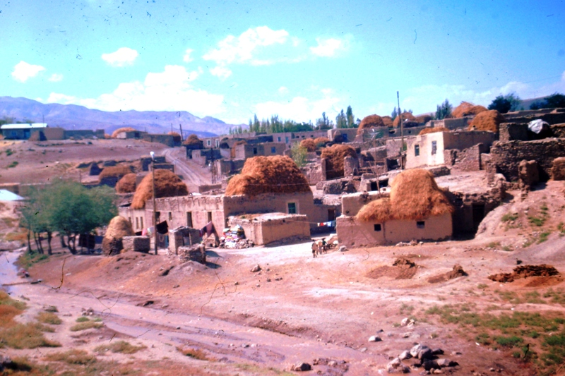Village near Iranian border