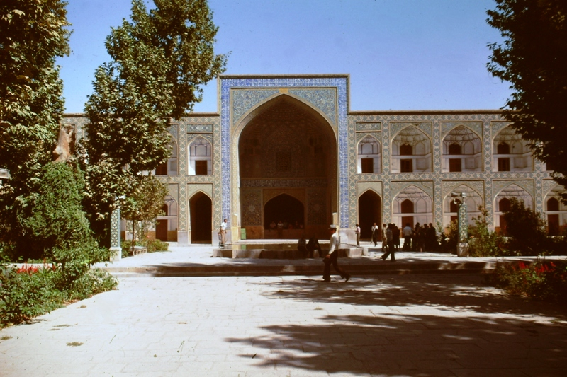Isfahan – Courtyard Theological School – (Madrese Chahar Bagh)