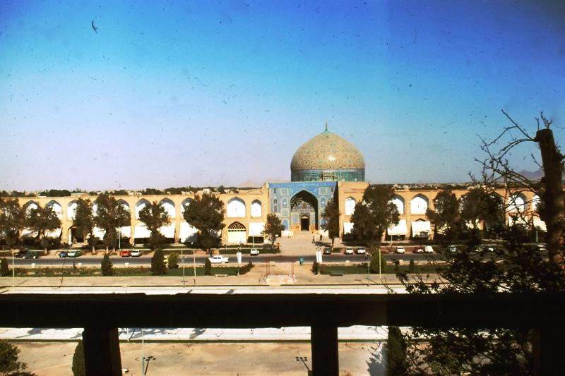Isfahan – Shah Mosque – (Masjid-i-Shah – from Ali Qapu Palace)