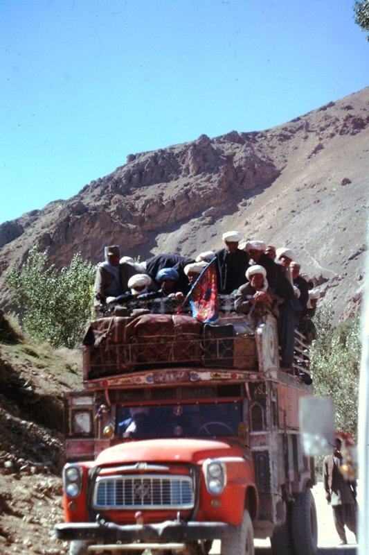 Between Kabul & Bamiyan