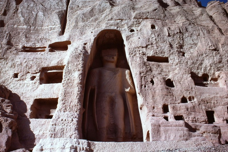 Bamiyan – Smaller Buddha – (125 feet)